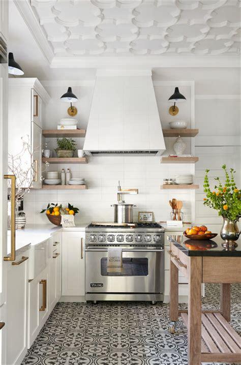 kitchen floor remodel traditional home magazine napa showcase home 1665