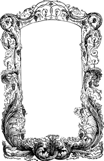 Free vector graphic: Frame, Vines, Ornate - Free Image on