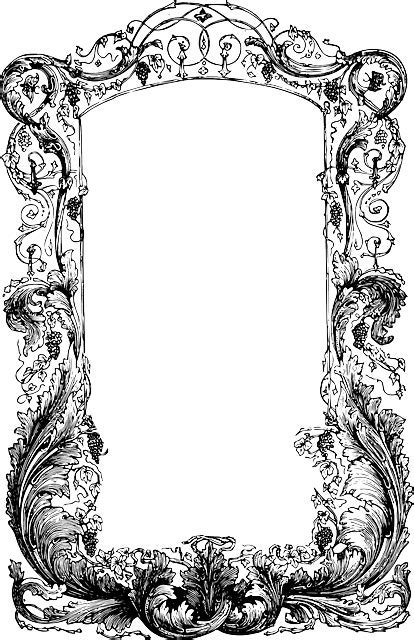 Free vector graphic: Frame, Vines, Ornate   Free Image on