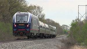 SPECIAL: Siemens Charger First Trip on Amtrak Michigan ...