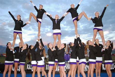 lehi high school cheer   cheer team