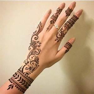Simple Henna Designs Tumblr HD Wallpaper