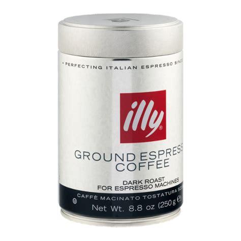 Illy classic roast coffee beans, medium roast, 250 g. illy Ground Espresso Coffee Dark Roast Reviews 2019