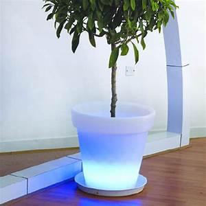 Pot Fleur Lumineux : pot fleurs lumineux de d coration 66 cm leds sur grossiste chinois import ~ Nature-et-papiers.com Idées de Décoration