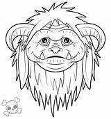 Labyrinth Movie Clipart Characters Coloring Ludo Drawing Film Tattoo Dessin Henson Jim Labrynth Goblin Labyrinth2 Labyrinthe King Adult Colouring Colorier sketch template