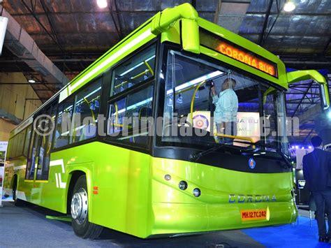 corona bus riding successfully  monocoque technology
