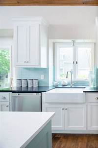best 20 blue backsplash ideas on pinterest With kitchen colors with white cabinets with black and teal wall art