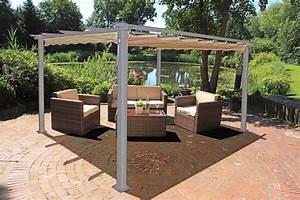 Pavillon sonnenschutz sonnendach berdachung terrasse for Sonnendach terrasse