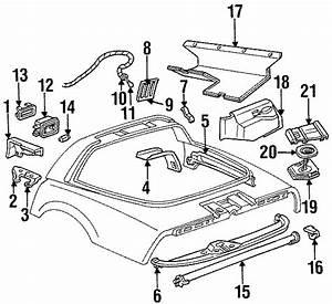 1991 Chevrolet Corvette Speaker Assembly