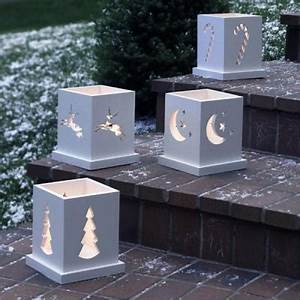 55 best Clay Luminaries images on Pinterest