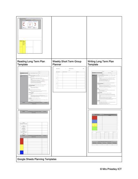 Planning templates