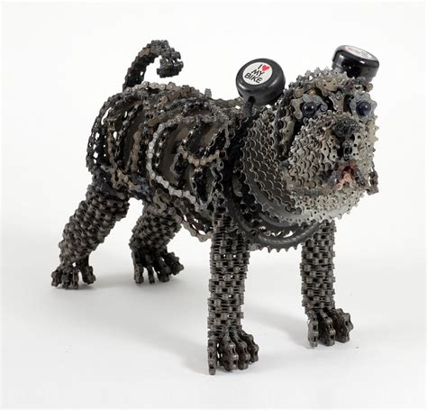 unchained  collection  dog sculptures