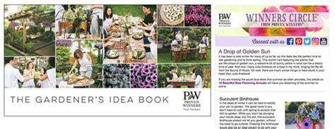 Wonderful New Book Gardeners by Gardener S Idea Book Winners Circle 174 Newsletter Proven