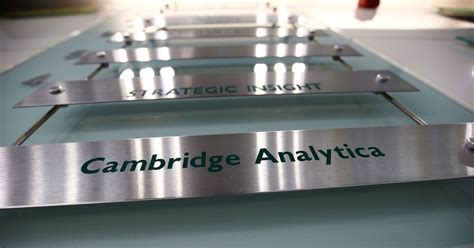 cambridge analytica  scl elections shut
