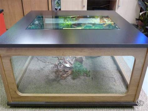 table basse aquarium doccasion ezooq