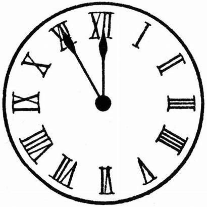 Clock Face Printable Roman Usf Etc Via