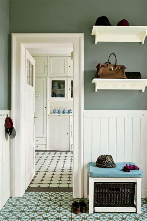 cuisine couloir chambre lambris et peinture