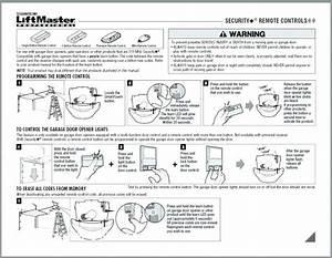 How To Program A Liftmaster Garage Door Opener