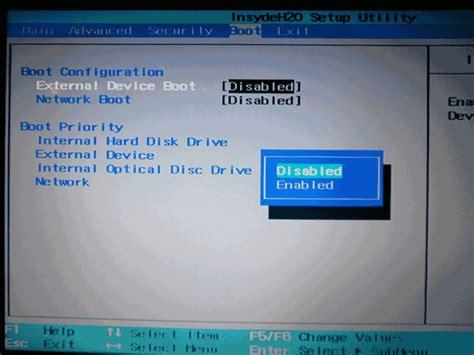 insydeh20 setup utility rev 3 7 инструкция hp