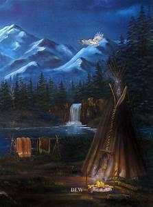 american shoshone c landscape original