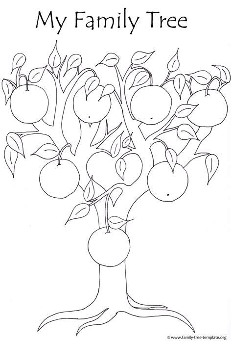 printable tree template free printable apple tree coloring pages coloring page apple tree