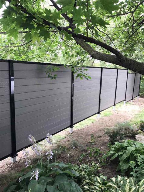 composite fencing board aluminium