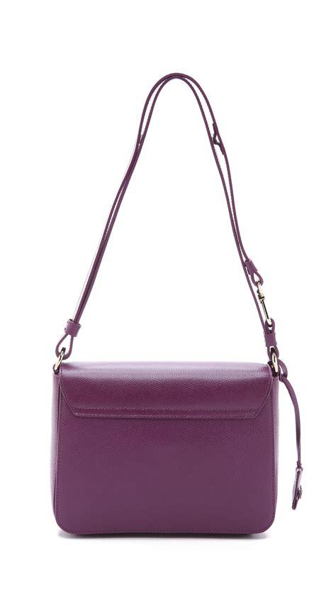 furla s hobo bag lyst furla metropolis shoulder bag aubergine in purple