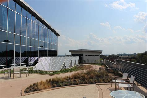 A view from the roof of the Citrix Sharefile building in