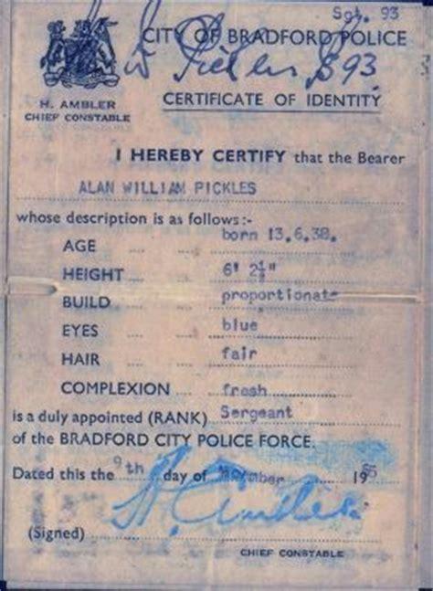 warrant card police uniforms fire badge certificate