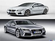 Audi RS7 vs BMW M6 Gran Coupe