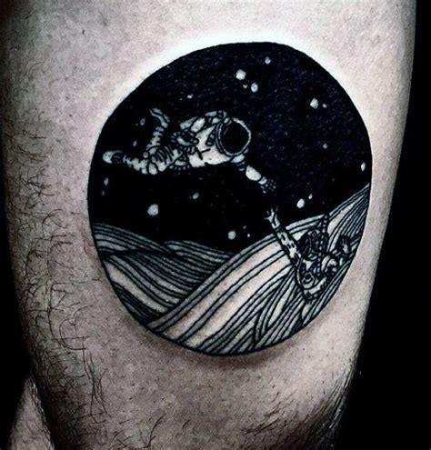 outer space tattoos  men galaxy  constellations