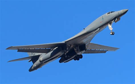 Wallpaper Rockwell B-1 Lancer, Heavy Bomber, Supersonic