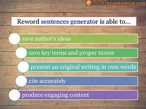 How To Avoid Plagiarism Generator Using Sentence Changer