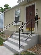 Outdoor Metal Handrails For Stairs by 25 Best Ideas About Exterior Handrail On Pinterest Railing Design Steel R