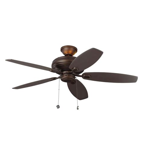 ceiling fan with uplight and monte carlo centro max uplight 52 in indoor roman bronze