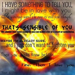 Tobias And Tris From Insurgent The Book Quotes. QuotesGram