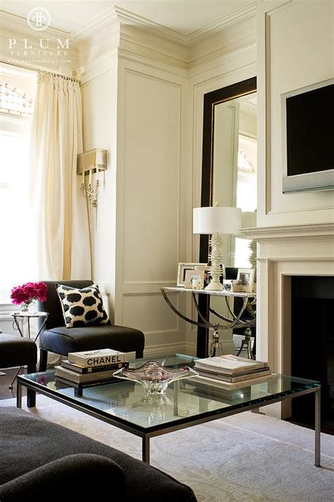 floor mirror in living room black floor mirror transitional living room mcgill design group