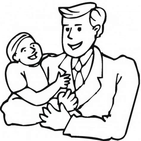 fathers day  coloring pages family holidaynetguide