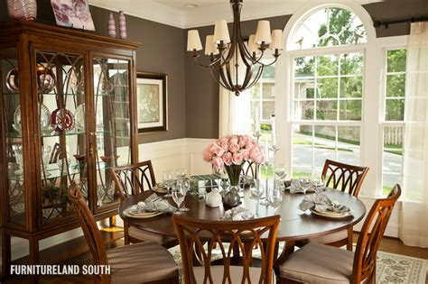 custom designed traditional home traditional dining
