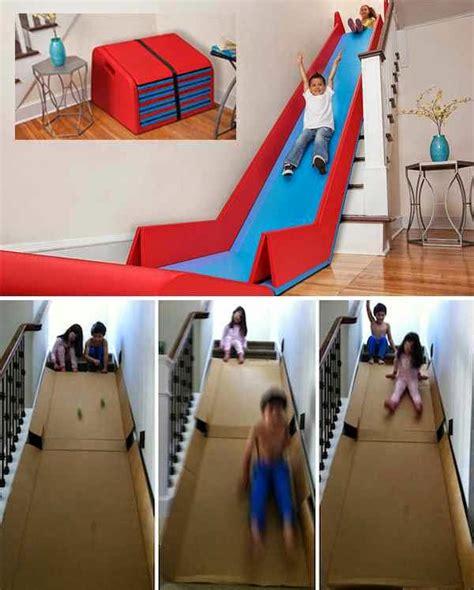 Diy Cardboard Slide Creative Ideas