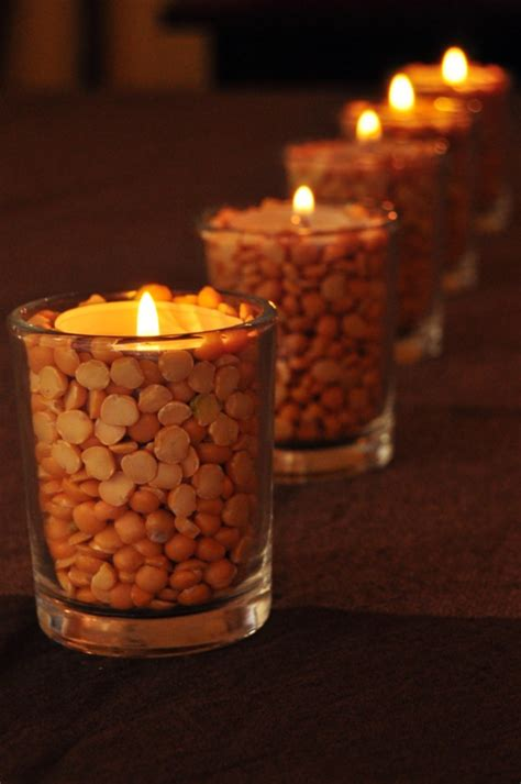 decorative diy thanksgiving candles