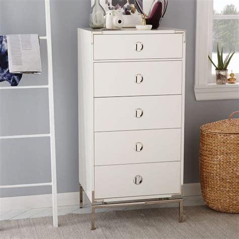 white lacquer dresser malone caign 5 drawer dresser white lacquer