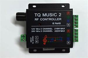 Power load and source questions (music controller with led ...