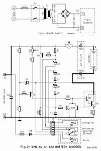 6v And 12v Car Battery Charger Circuit Design Diagram