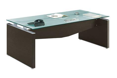 bureau verre et bois neuf adopte un bureau