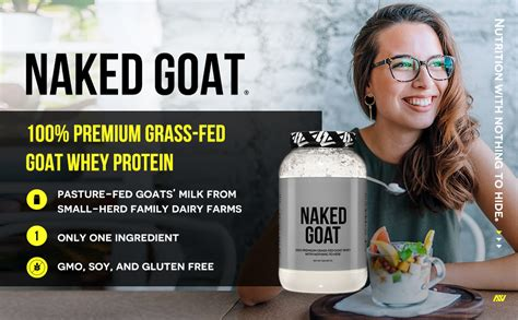 Amazon.com: Naked Goat - 100% Pasture Fed Goat Whey