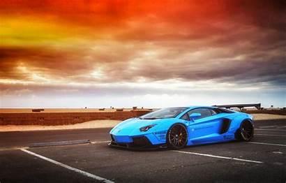 Lamborghini Aventador Sunset Sky Lb Liberty Walk