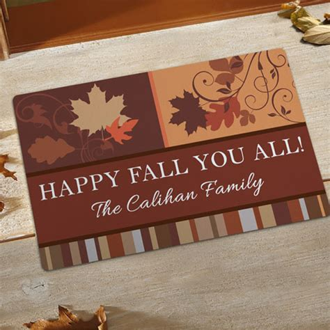 Make Your Own Doormat by Create Your Own Fall Door Mat