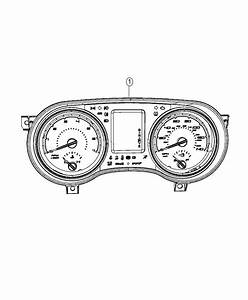 2015 Dodge Charger Cluster  Instrument Panel   Instrument