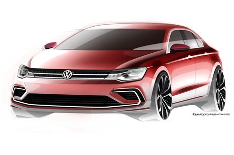 Volkswagen New Midsize Coupe Concept Touareg In China